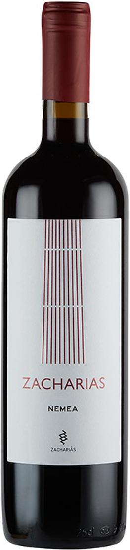 Bottle of wine Nemea Zacharias